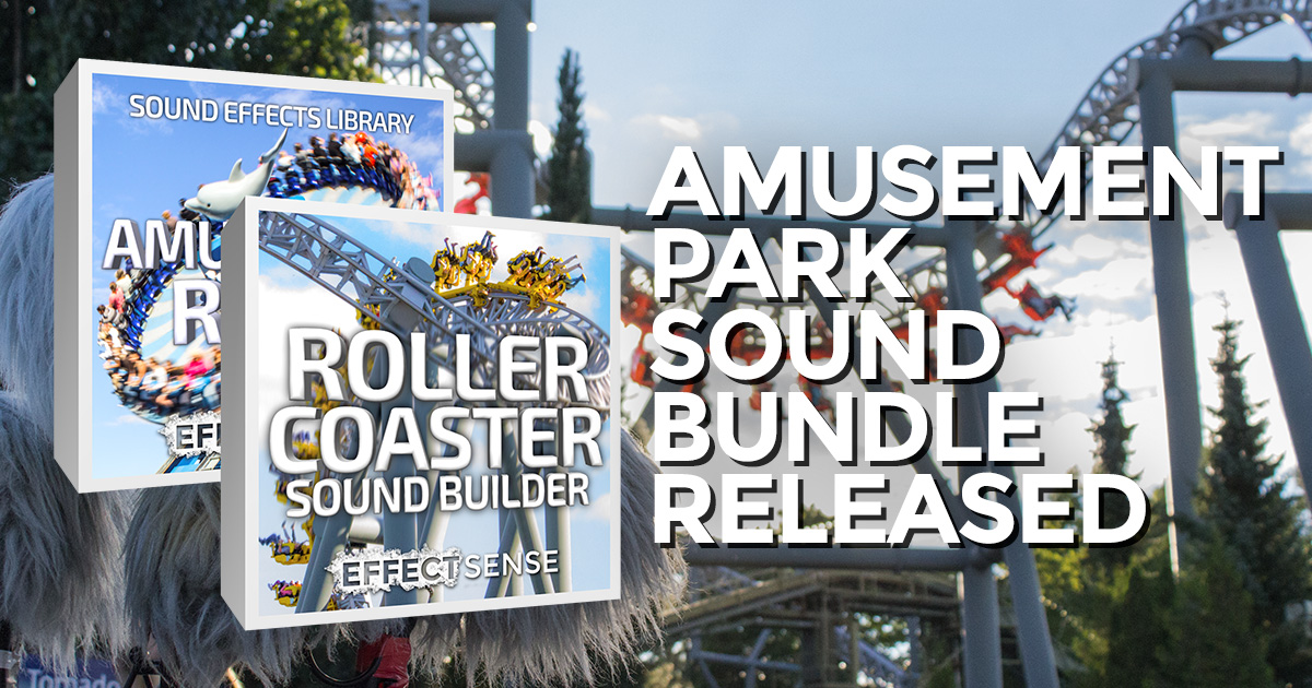 Amusement Park Sound Effect Library Released