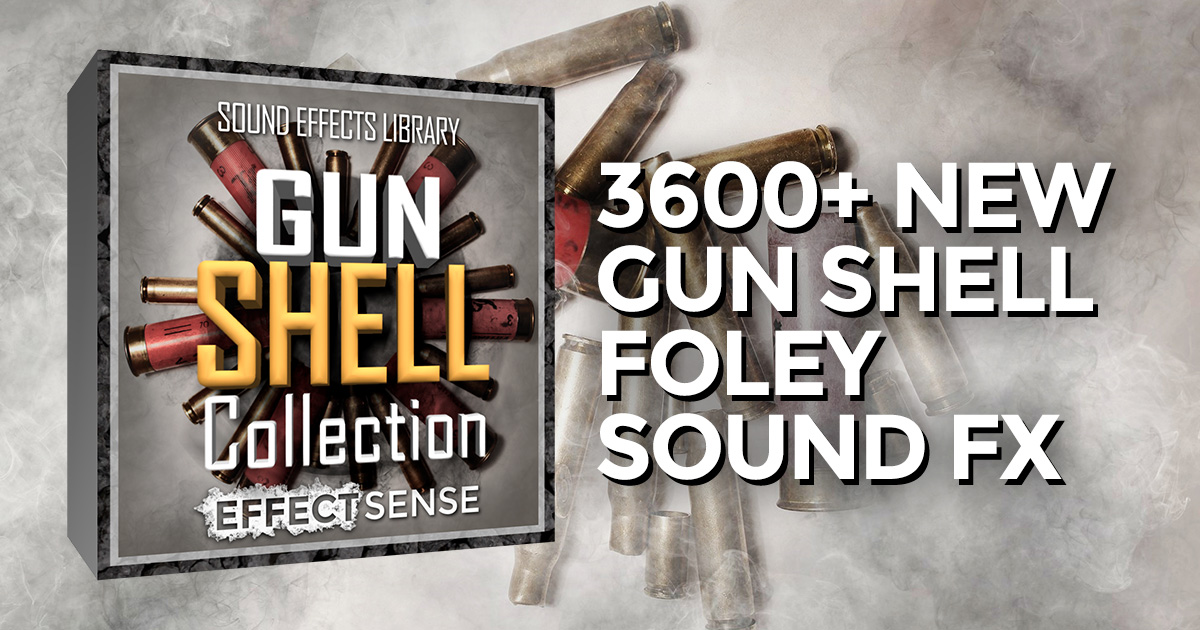 Gun Shell Sound FX Collection Released