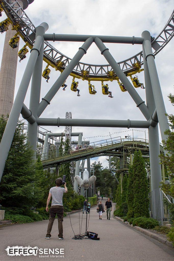 Roller Coaster Sound Effects Builder | Effect Sense Sound