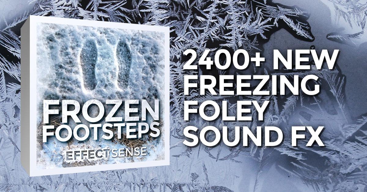 Frozen Footsteps Game Film Foley Sound Effects