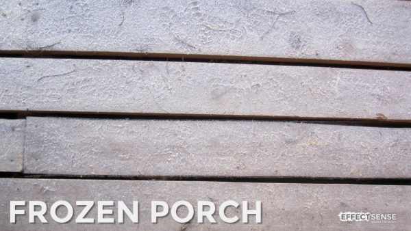 Frozen Wooden Porch Footstep Foley Sound Effects